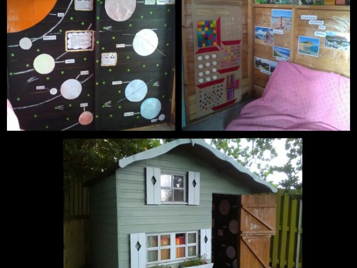Our refurbished playhouse